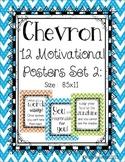 Chevron Motivational Posters Set 2