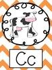 Chevron MultiColor Alphabet Posters