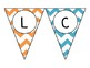 Chevron - Multicolored - Welcome Pendant Banner - English and Spanish