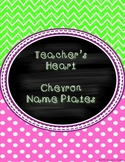 Chevron Name Plates for 3-5th Graders
