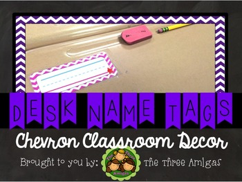 Chevron Name Tags