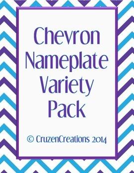 Chevron Nameplate Variety Pack