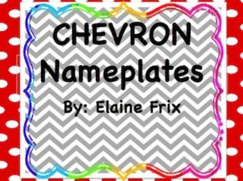 Chevron Nameplates