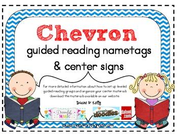 Chevron Nametags & Center Signs