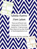 Classroom Newsletters in Chevron
