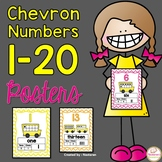 Numbers 1- 20 Posters With Ten Frame