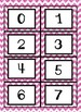 Chevron Number Cards 0-20