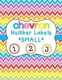 Chevron Number Labels SMALL