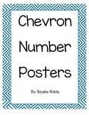Chevron Number Posters 0-10