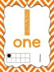 Chevron Number Posters 0-20