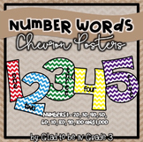 Classroom Number Words ~ Chevron