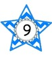 Chevron Number of the Day Work Page with Large Matching Display Numbers
