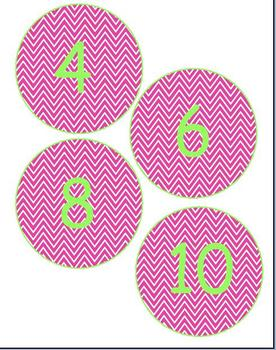 Chevron Numbers