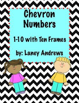 Chevron Numbers 1-10