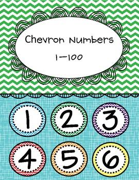 Chevron Numbers 1-100