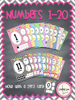 Chevron Numbers 1-20