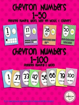 Chevron Numbers Mega Pack (1-100)
