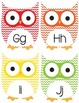 Chevron Owl Word Wall