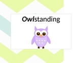 Chevron Owl theme behavior chart *editable