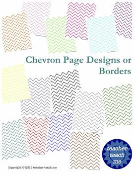 Chevron Page Designs