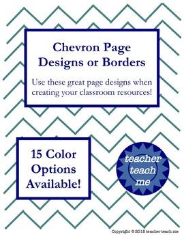 Chevron Page Designs
