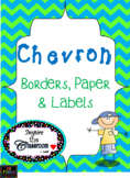 Chevron Paper, Borders, & Labels Bundle