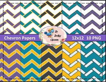 Chevron Papers (Digital Papers for Commercial Use)