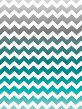 Background Template - Chevron Paper Pattern Design