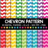 Chevron Pattern Digital Paper