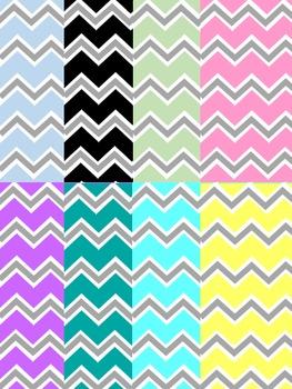 Background Templates - Fancy Chevron Paper Pattern Designs
