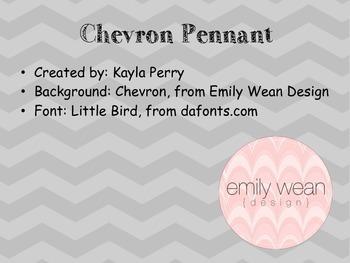Chevron Pennant