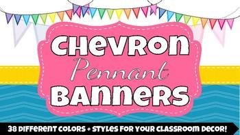 Chevron Pennant Banners