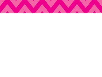 Chevron Pink PowerPoint Template