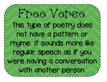 Chevron Poetry Posters