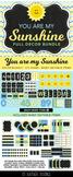 Chevron & Polka Dot Classroom Decor - Full Bundle - Blue Y
