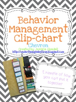 Chevron Positive Reinforcement Behavior Chart