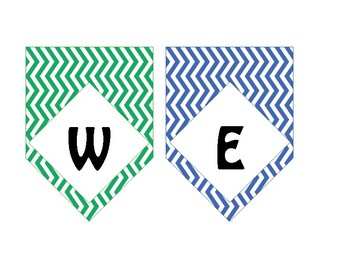 Chevron Primary Color Welcome Banner