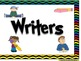Skill Banners (Reading, Writing, Math, Science) ~ Chevron Print Multi Color