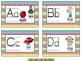 Word Wall Alphabet Cards ~ Chevron Print Multi Color (whit