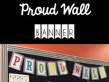 Chevron Proud Wall Banner {FREE!}