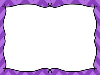 Chevron Purple PowerPoint Template