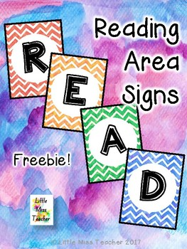 Chevron READ Sign - FREE