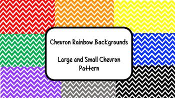 Chevron Rainbow Backgrounds