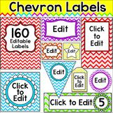 Chevron Theme Labels - Rainbow Theme