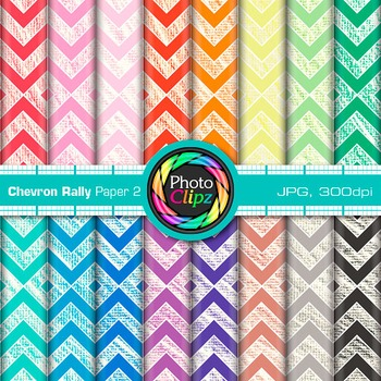 Chevron Rally Paper {Scrapbook Backgrounds for Worksheets, Resources} 2