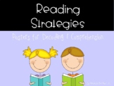 Reading Strategies Posters (Decoding & Comprehension)