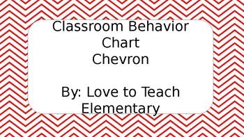 Chevron Red Clip Chart
