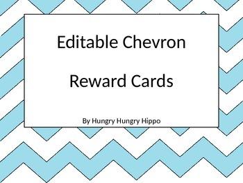 Chevron Reward Cards