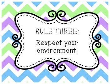 Chevron Rule Posters