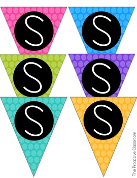 Dots Safe Spot/ Safe Place Flip Cards-Conscious Discipline!